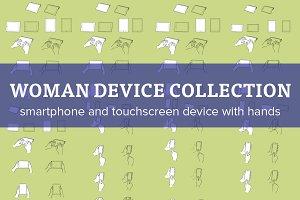 Bundle - Woman's Hands & devices