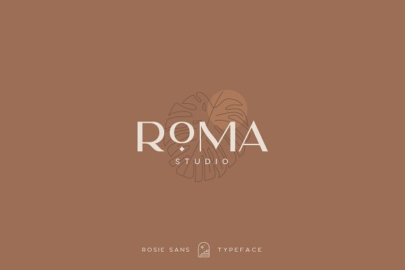 Rosie Sans - Gorgeous Typeface in Sans-Serif Fonts - product preview 11