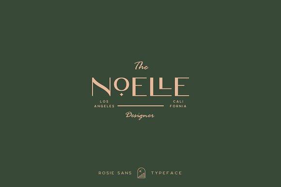 Rosie Sans - Gorgeous Typeface in Sans-Serif Fonts - product preview 17