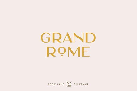 Rosie Sans - Gorgeous Typeface in Sans-Serif Fonts - product preview 23