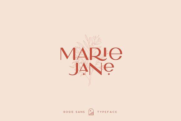 Rosie Sans - Gorgeous Typeface in Sans-Serif Fonts - product preview 24