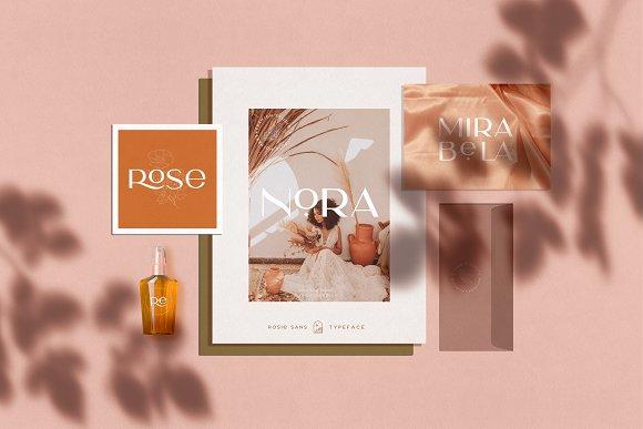 Rosie Sans - Gorgeous Typeface in Sans-Serif Fonts - product preview 25
