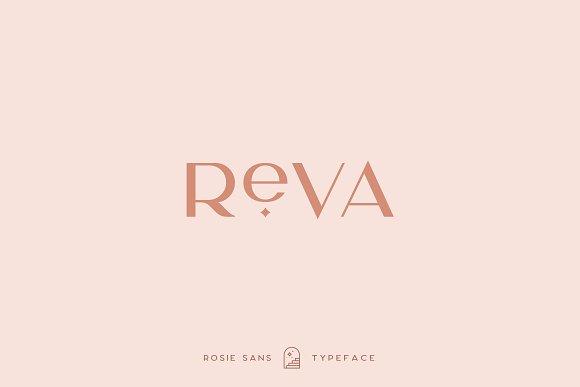 Rosie Sans - Gorgeous Typeface in Sans-Serif Fonts - product preview 34