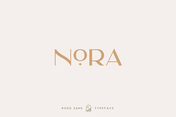 Rosie Sans - Gorgeous Typeface in Sans-Serif Fonts - product preview 38