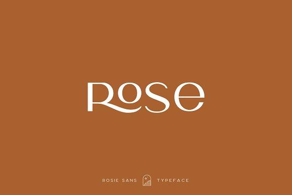 Rosie Sans - Gorgeous Typeface in Sans-Serif Fonts - product preview 39