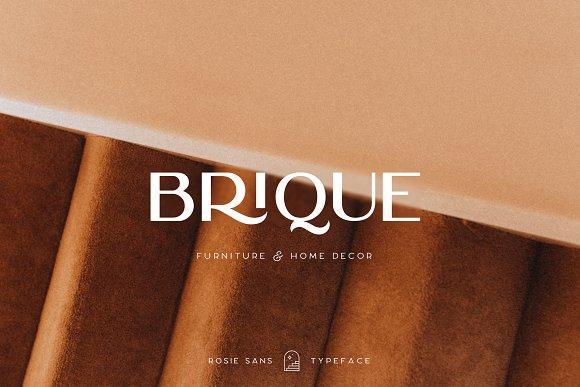 Rosie Sans - Gorgeous Typeface in Sans-Serif Fonts - product preview 42