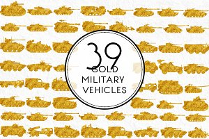 Gold Military Vehicles