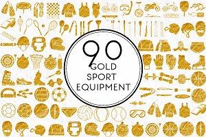 Gold Sports Equipment