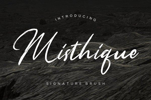 Misthique Signature Brush