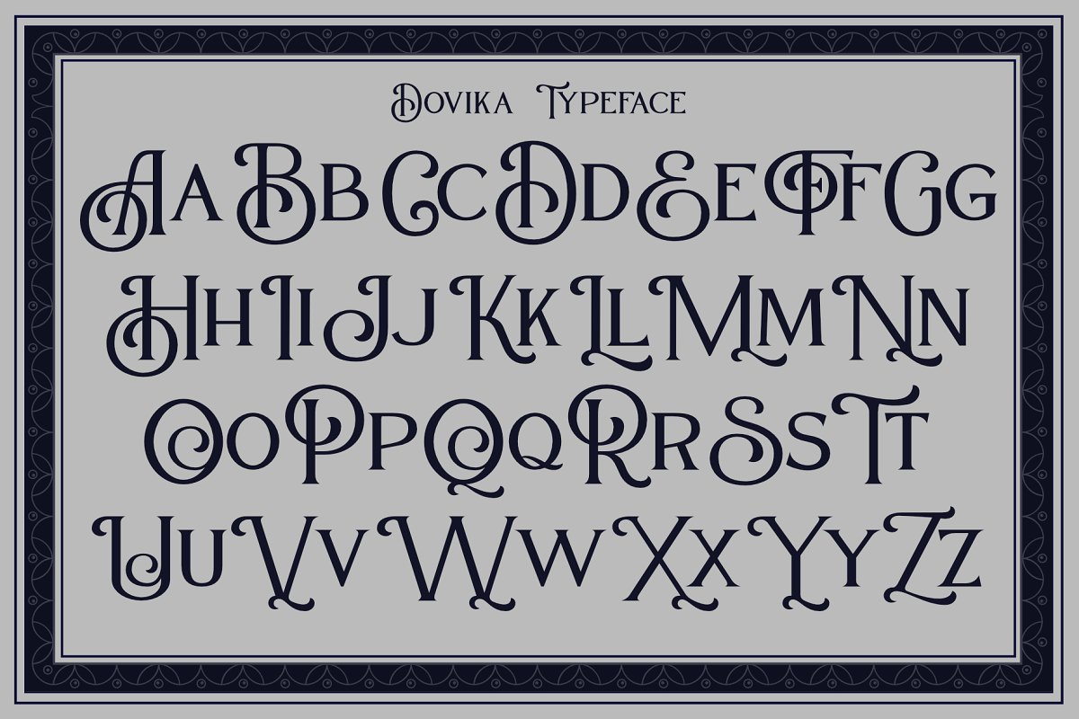 Dovika in Serif Fonts - product preview 3