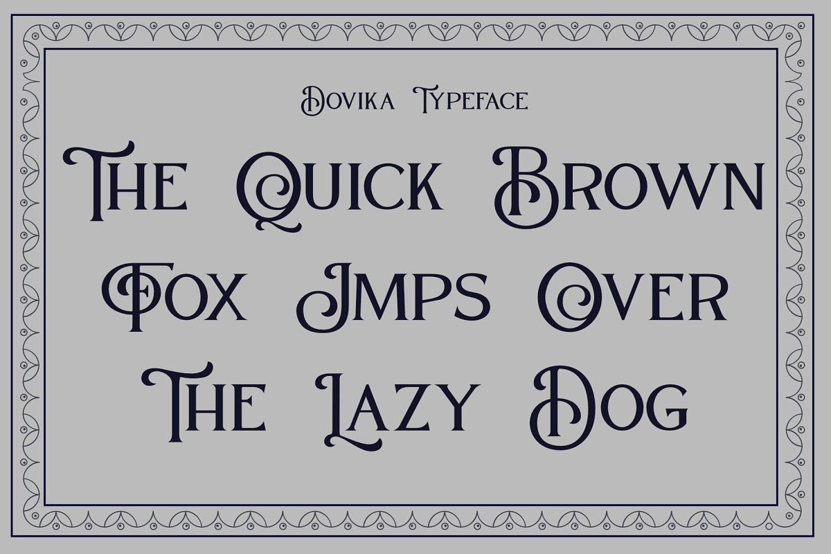 Dovika in Serif Fonts - product preview 8