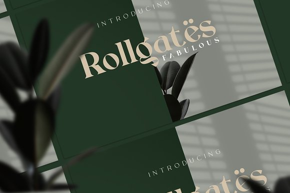 Rollgates Fabulous in Display Fonts - product preview 1