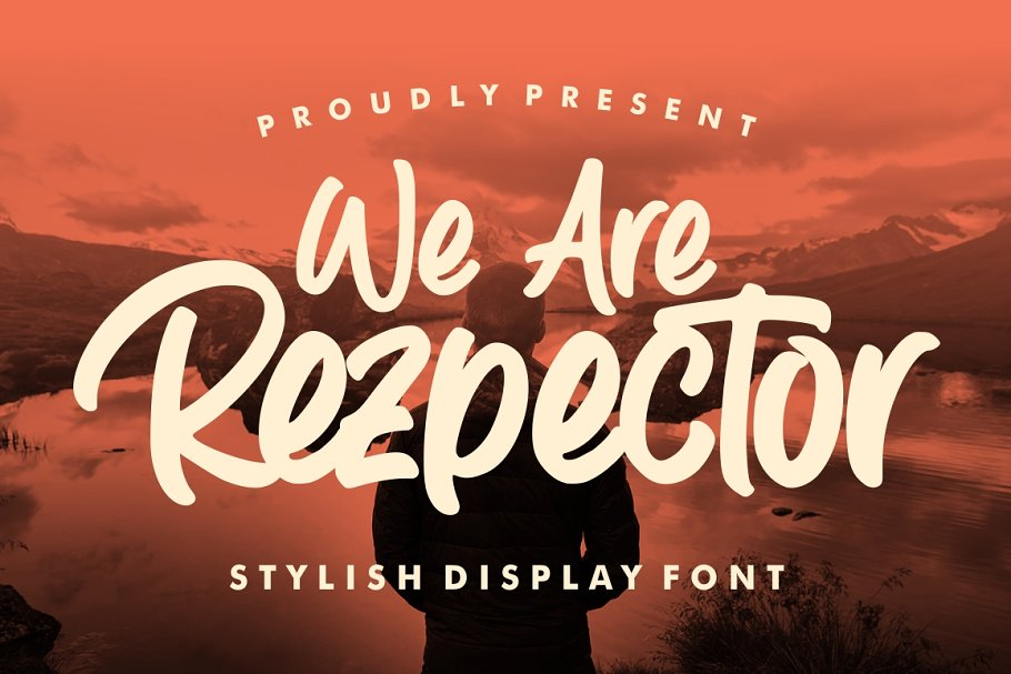 Rezpector - Stylish Display Font in Display Fonts - product preview 11