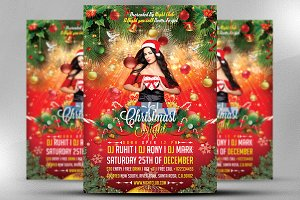 Merry Christmast Party Flyer