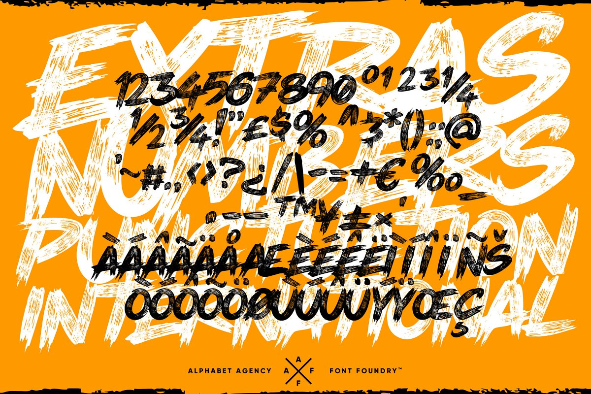THEY LIVE PAINT BRUSH FONT in Display Fonts - product preview 3