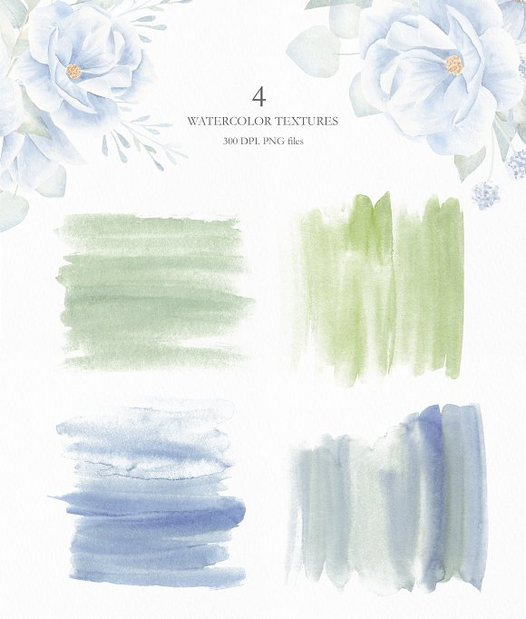 Winter Morning Watercolor Set in Illustrations - product preview 11