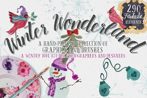 Winter Wonderland Design Tool Kit!