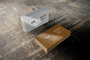 Business Card Mock-Up 8
