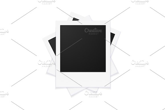 Photo Frames and Pin. Vector in Objects - product preview 4