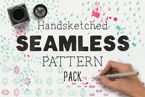 HandSketched Seamless Pattern Pack