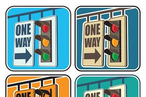 Traffic Lights mini Set