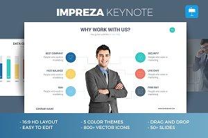 Impreza - Keynote Template