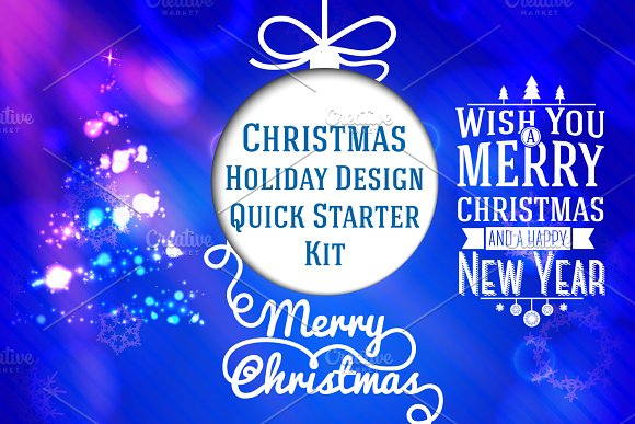 Different Christmas Cards. Vector. - Graphics