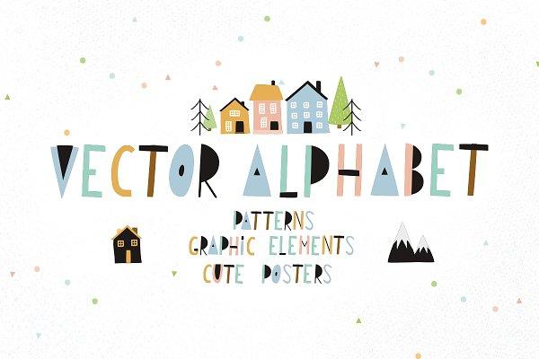 Alphabet Scandinavian style