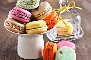 French dessert, macarons