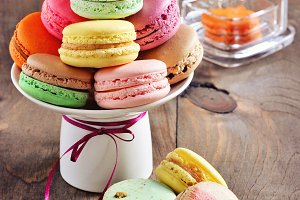 French dessert, macaroons