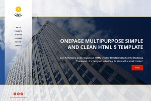Civil - OnePage HTML Theme