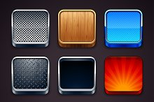 App Icons 3D Frames
