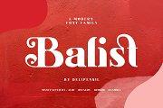 Balist - Modern Serif Font