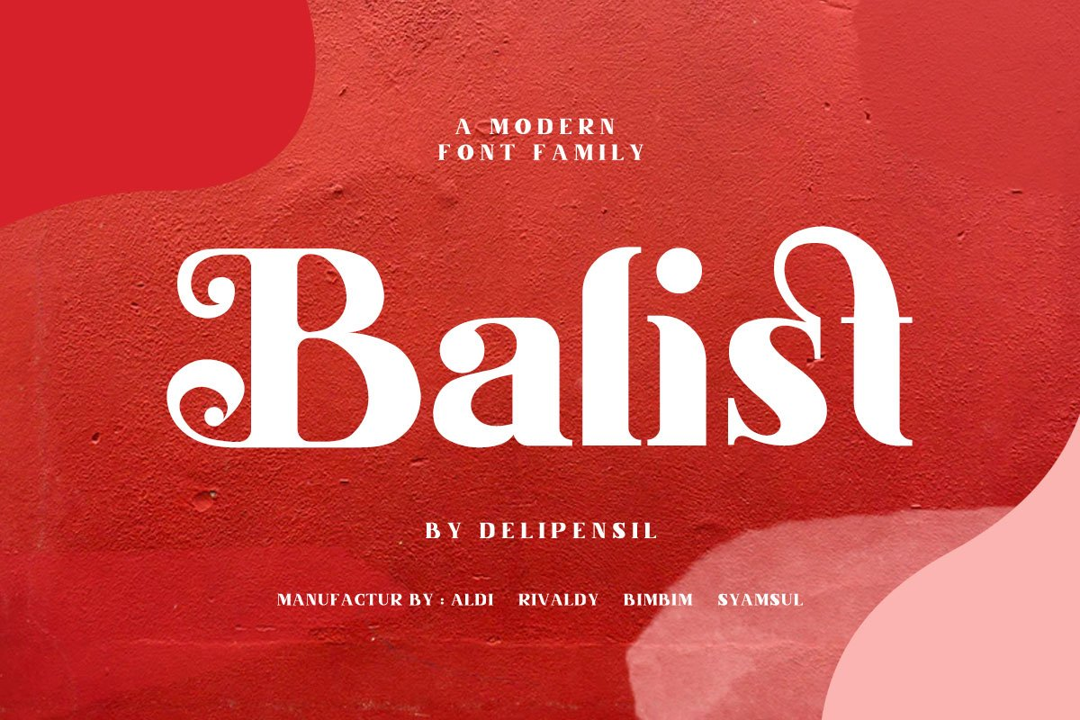 Balist - Modern Serif Font in Serif Fonts - product preview 8