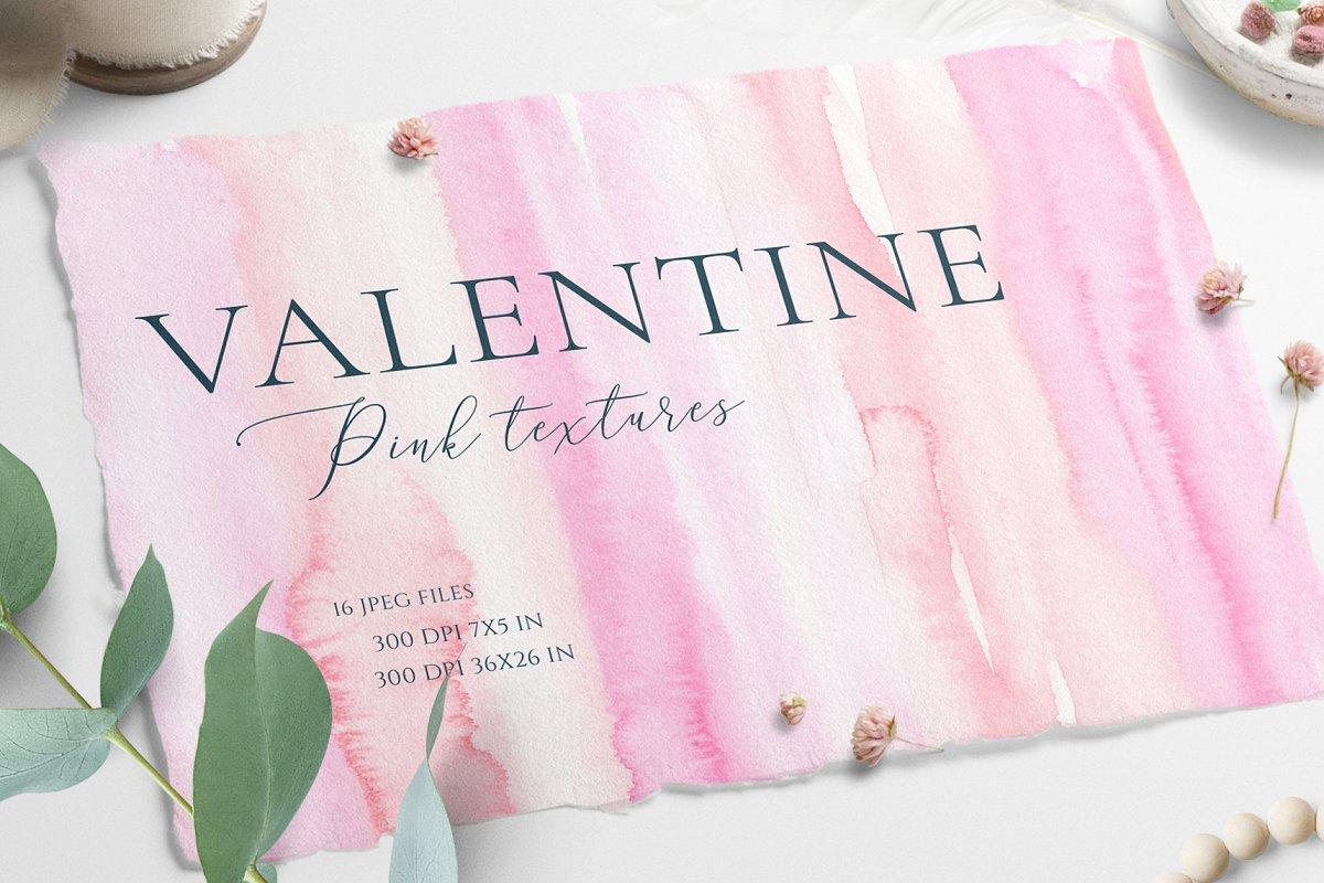 Valentine Watercolor Texture
