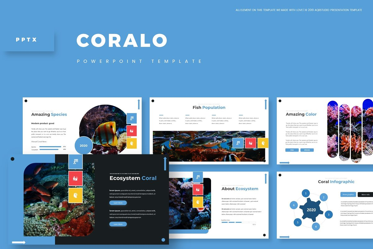 Coralo - Powerpoint Template