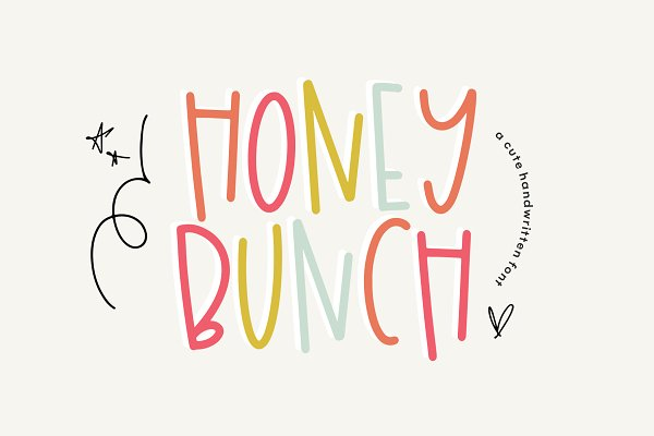 Honey Bunch | Font with Extras