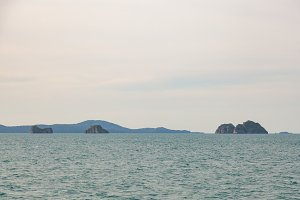 Small island in the Gulf of Thailand