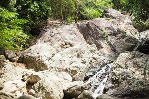 Waterfall on Koh Samui