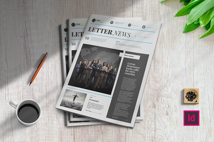 Letter News | Newsletter Template