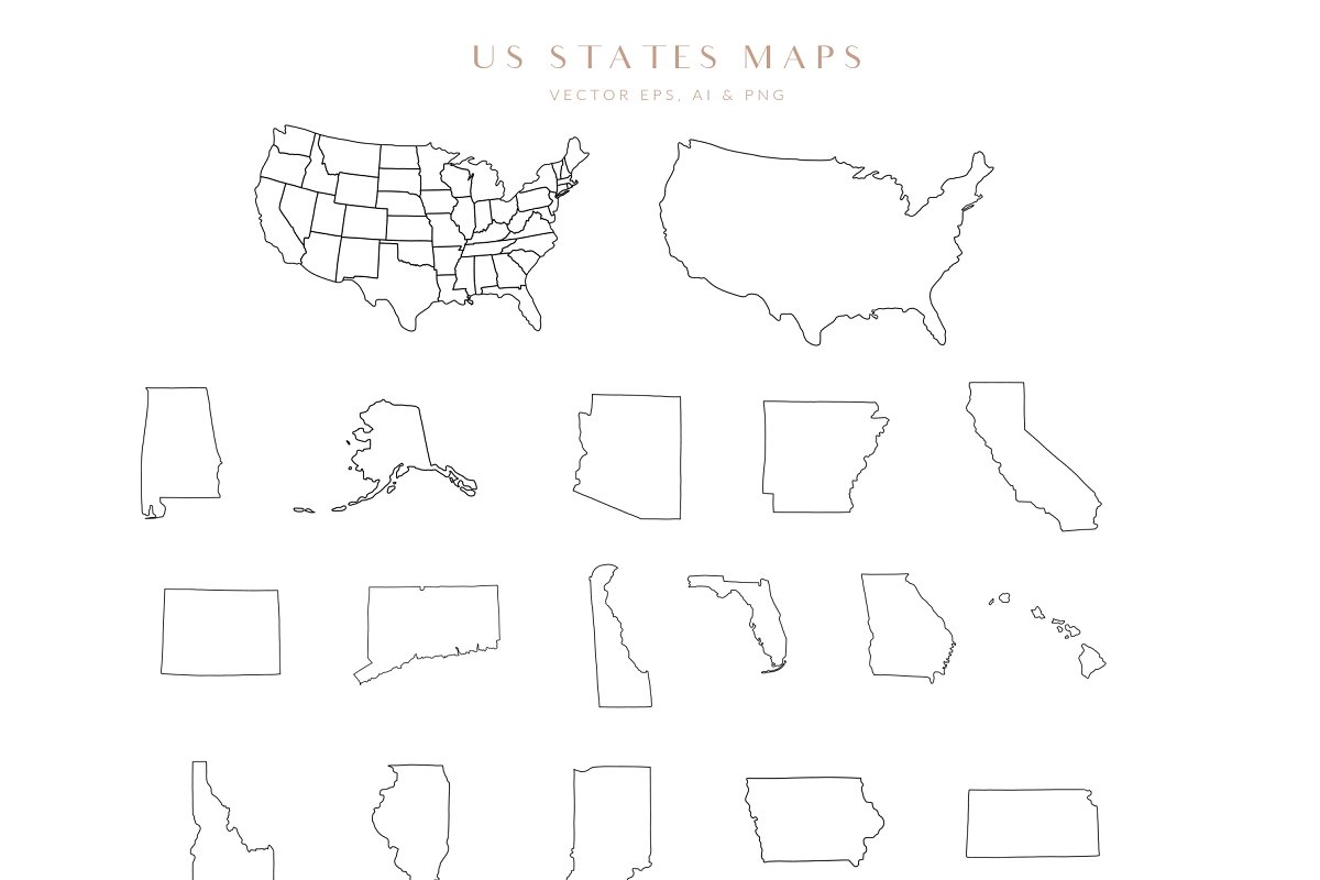 Map Creator Wedding Travel Summer in Illustrations - product preview 17