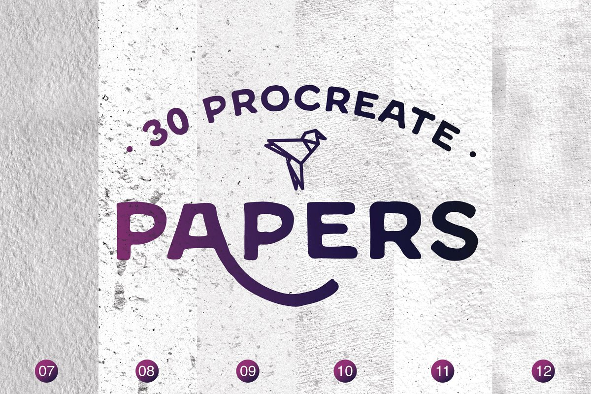 Procreate Papers Brushes in Add-Ons - product preview 2