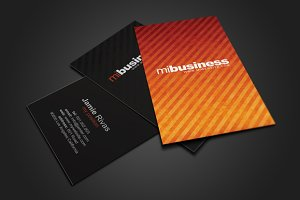Stripes Business Card