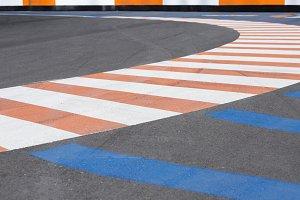 karting circuit bend