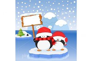 Penguins' Christmas Message