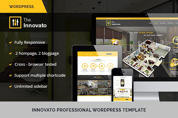 Innovato Bussiness WordPress theme