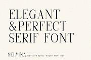 Selvina//a classic serif