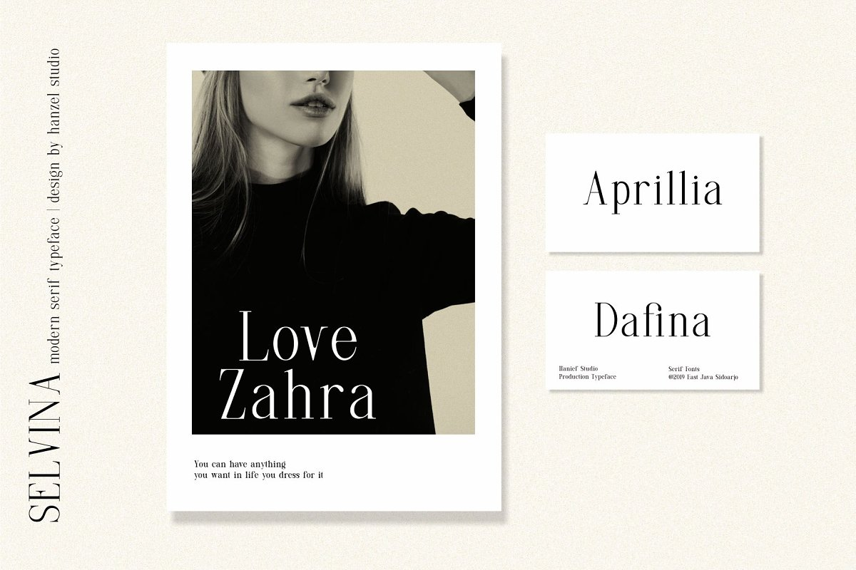 Selvina//a classic serif in Serif Fonts - product preview 7