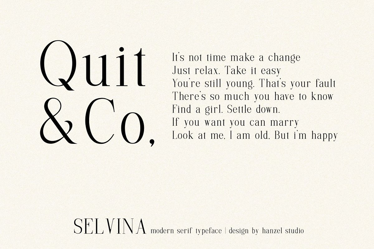 Selvina//a classic serif in Serif Fonts - product preview 8