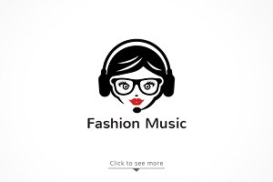 Fashion Music logo design